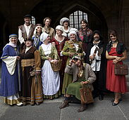Tours in Periodic Costumes
